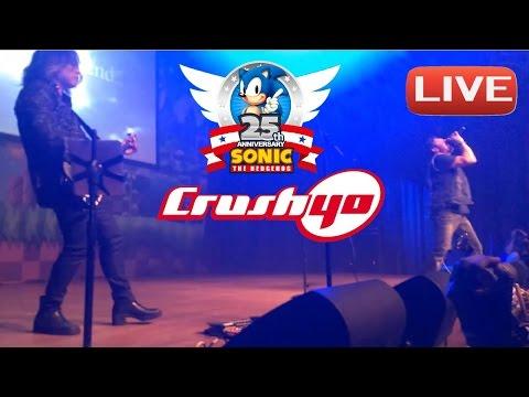 CRUSH 40 LIVE Sonic's 25th Anniversary Party San Diego Comiccon 2016