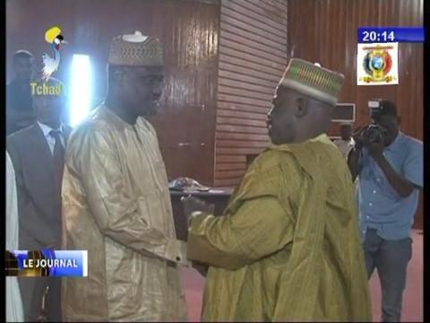 Une cérémonie en honneur de Moussa Faki Mahamat