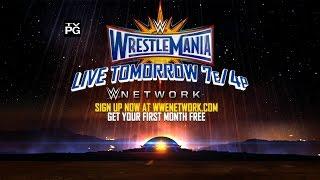 Don't miss WrestleMania 33 – Live tomorrow