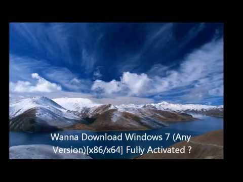 windows 7 ultimate fully activated genuine version (x86x64)