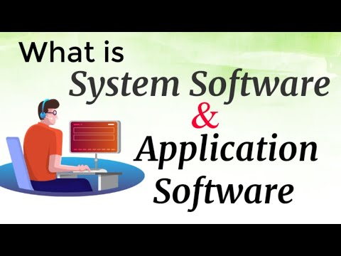 Types Of Software: System Software And Application Software   Urdu & English   INFORMATIVE COMMUNITY