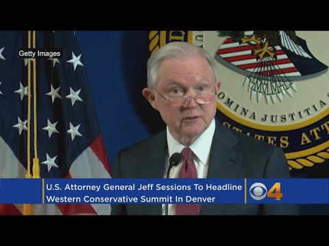 Jeff Sessions To Speak In Denver At Western Conservative Summit