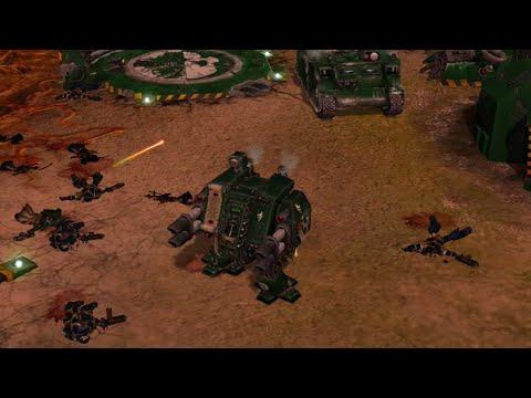 Bloodline Mod 2020: 2vs3: Dark Angels vs Chaos Space Marines! Warhammer 40K: Dawn Of War: Soulstorm  