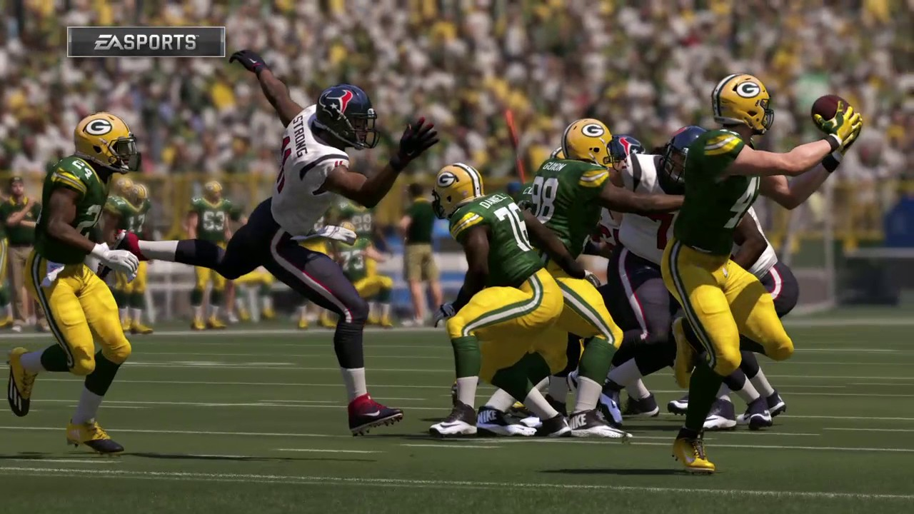 timeless design 460de 4a1a7 NFL Week 13 - Houston Texans vs Green Bay Packers - Full Game - Simulation  Nation
