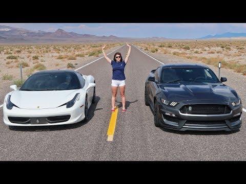 Street Racing in the Desert