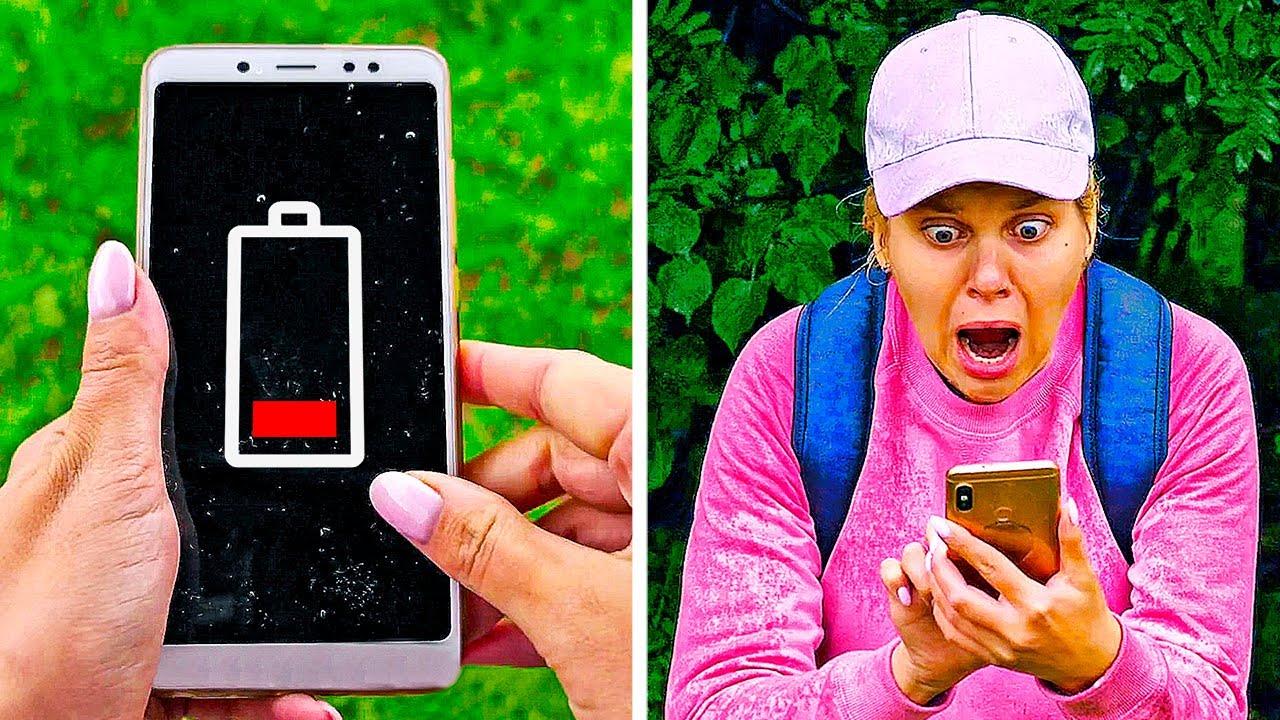 25 LIFE SAVING CAMPING HACKS YOU SHOULD KNOW - YouTube