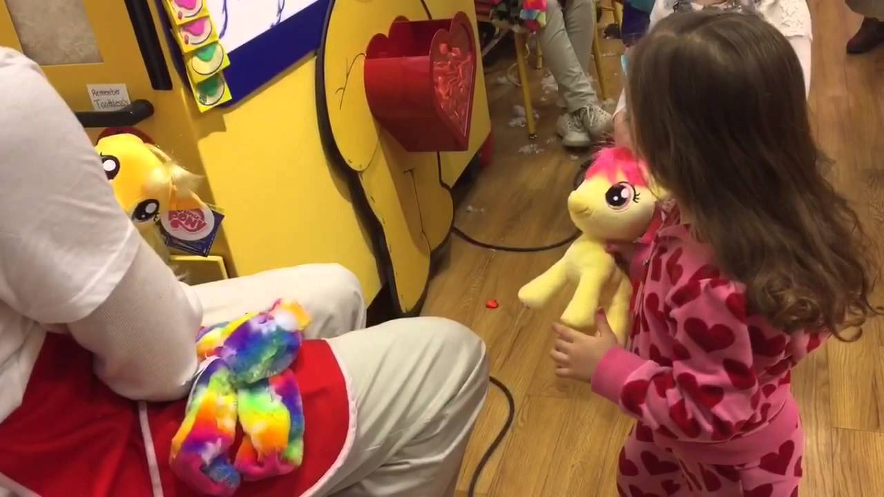 Build A Bear Workshop My Little Pony Stuffing Applejack