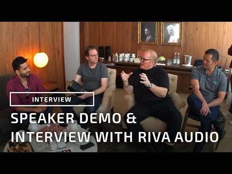 Speaker Demo & Interview With Riva Audio Co-Founders