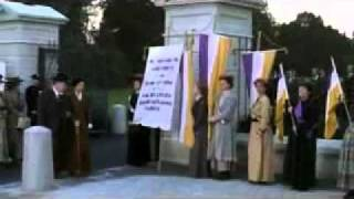 Iron Jawed Angels  White House Picketing Clip thumbnail