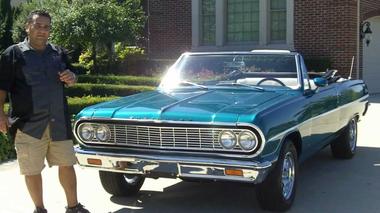 1964 Chevy Ss Malibu Convertible Classic Muscle Car For