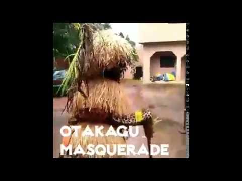 Otakagu Masquerade And Mbem Oratory Performance