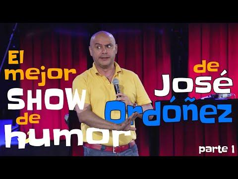 😂 El mejor show de humor de José Ordóñez  😂 - parte 1 -