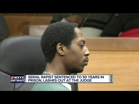 Metro Detroit serial rapist tells judge 'F*** you, your honor' after sentencing