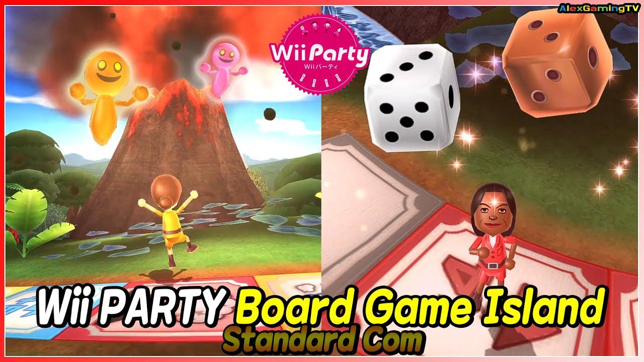 Wii Party - Board Game Island (Standard com) Donna vs Maria vs Shouta vs Yoshi   AlexGamingTV