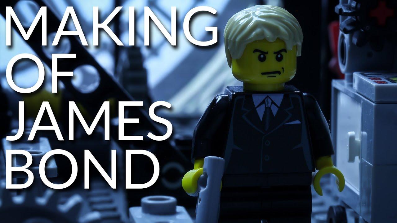 Making of Lego James Bond