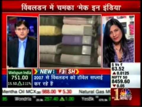 Dipali Goenka, ED, Welspun India shares Wimbledon Towels Story on CNBC Awaaz Sauda Aapka