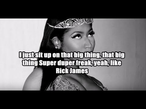 Nicki Minaj - Don't Hurt Me (Lyrics)