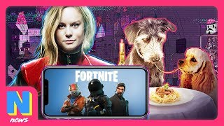 Fortnite Mobile Generated HOW MUCH Money?! Captain Marvel: Brie Larson BTS Exclusive| NW News