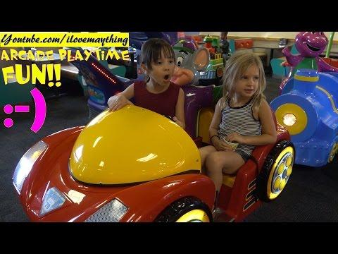 Family Fun Playtime Channel: Indoor Amusement Arcade and Kiddie Rides! Happy Birthday Marxlen!
