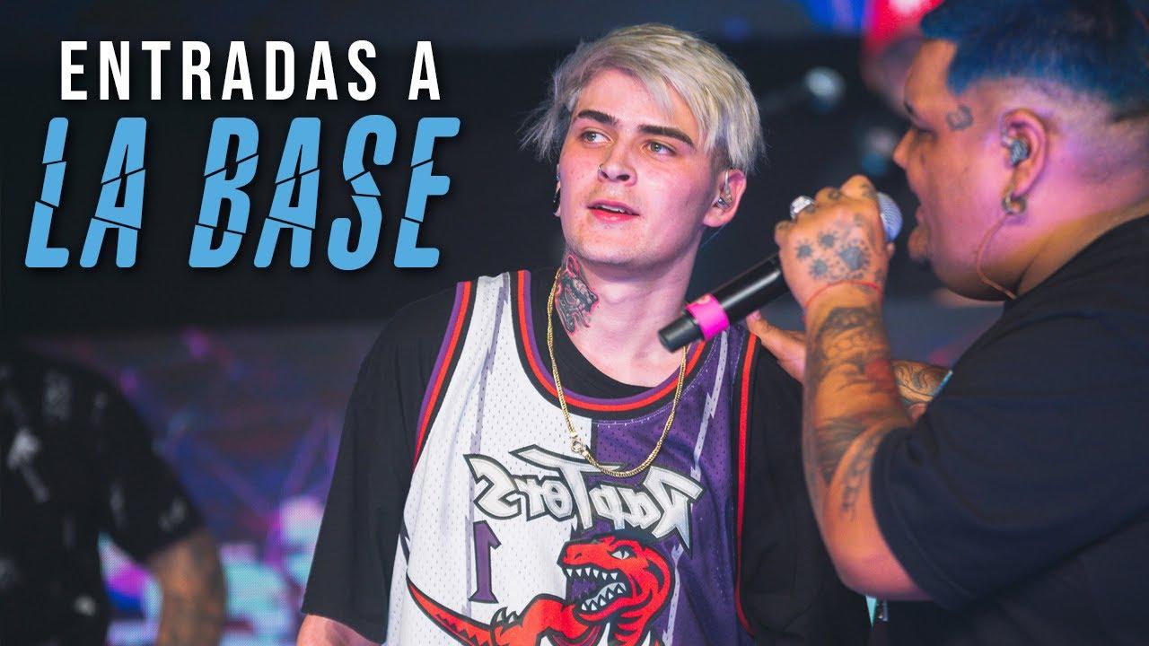ENTRADAS A LA BASE que se volvieron LEGENDARIAS!   Batallas de Gallos (Freestyle Rap)