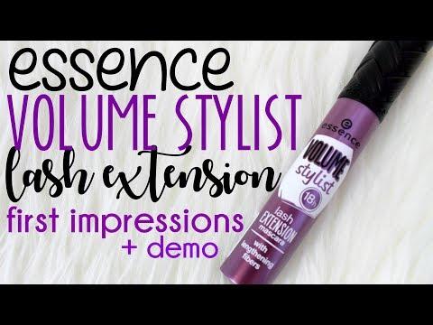 c14bb86dd6d {MMM}: NEW Essence VOLUME STYLIST LAST EXTENSION Mascara || First  Impressions + Demo - YouTube