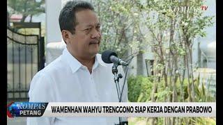 Respon Prabowo Penunjukkan Trenggono jadi Wamenhan