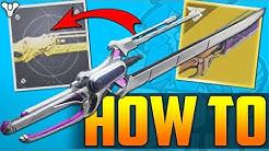 Destiny 2 - How to Get WORLDLINE ZERO Catalyst & Masterwork Progression - Full Guide