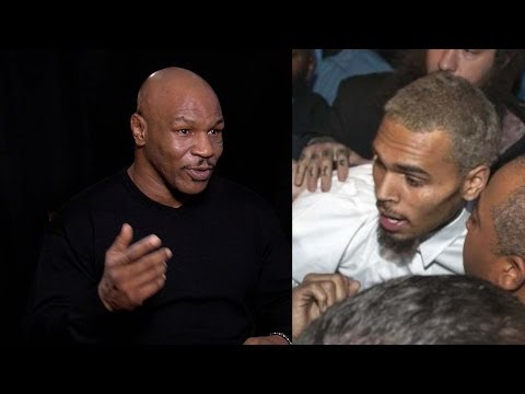 Mike Tyson gives Chris Brown some advice about jail