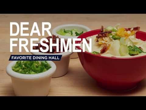 Dear Freshmen: Favorite Dining Hall