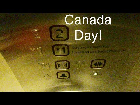 Happy Canada Day! ThyssenKrupp/Northern Elevators at Toronto Pearson International Airport