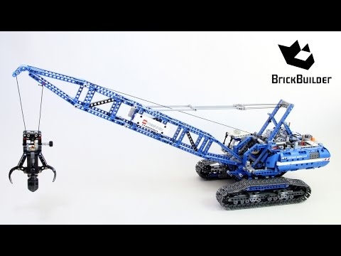lego technic 42042 crawler crane lego speed build youtube. Black Bedroom Furniture Sets. Home Design Ideas