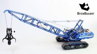 LEGO TECHNIC 42042 Crawler Crane - Speed Build for Collecrors - Technic Collection (12/13)