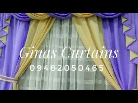 GINAS CURTAINS Manila (V-021)- Curtains designs, textiles and color UPDATES
