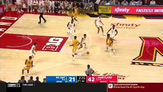 Extended Highlights: North Carolina A & T at Maryland | Big Ten Basketball