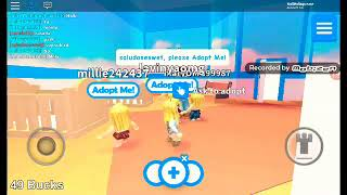 Playing adopt me /with a sub - Roblox read descri.