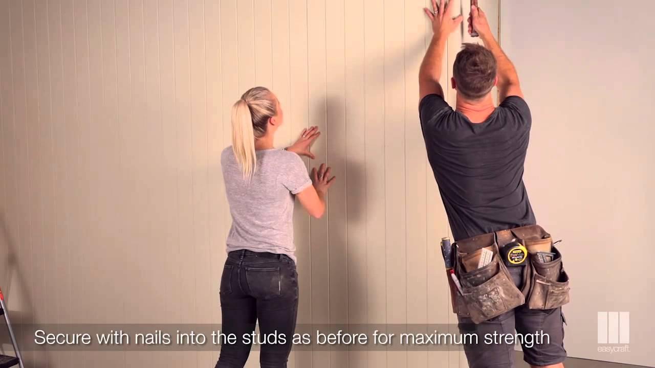 Easycraft Diy 3 Installing Easyvj On A Stud Wall With Kyal Kara