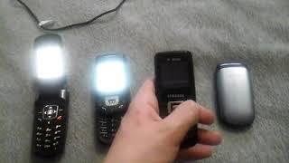Samsung E770 vs D500 vs B130 vs E1150i Race (Sony Suarez)
