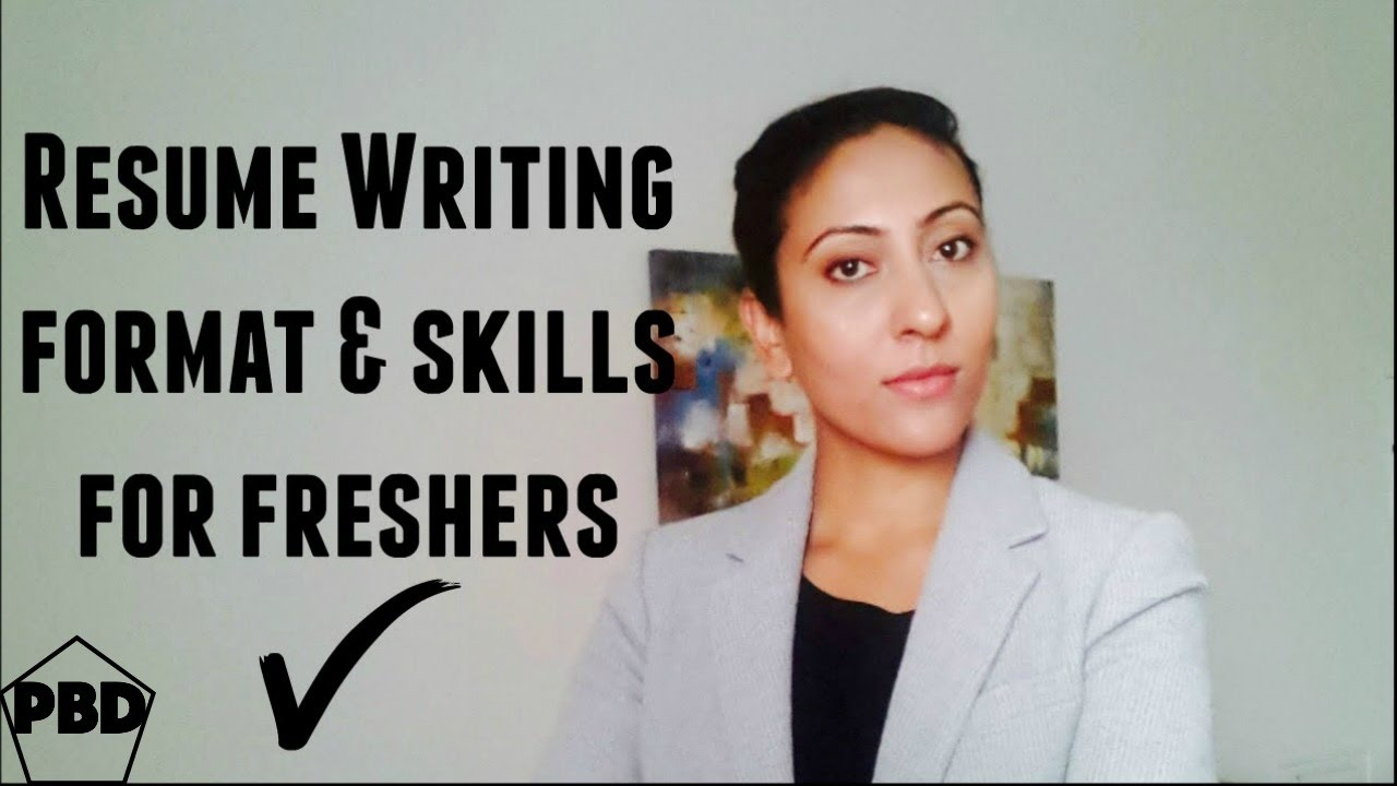 How to write a professional resume for