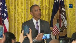 President Obama Speaks at an Eid al-Fitr Reception