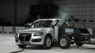 2009 Audi Q5 side IIHS crash test