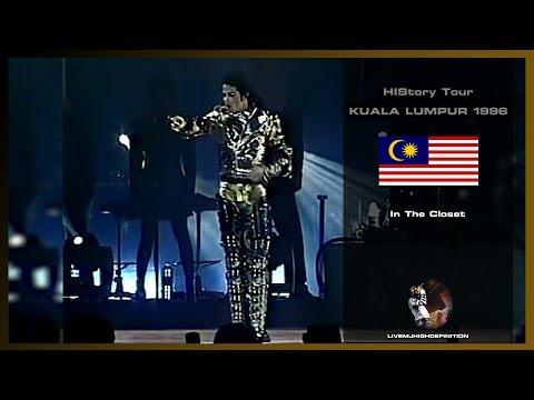 Michael Jackson - In The Closet - Live Kuala Lumpur 1996 - HD