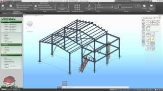 Advance Steel 2016 Урок 15 Монтажные схемы и узлы