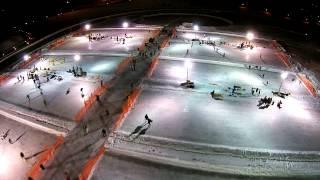 Pond Hockey Festival On The Rock 2015 - A Drone's Eye View