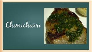 Cooking | Como hacer chimichurri sencillo Salsas para carnes faciles