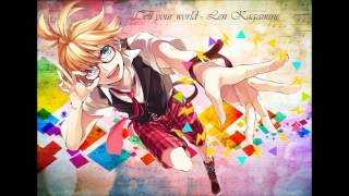 [VOCALOID 3] Tell your world - Len Kagamine + MP3