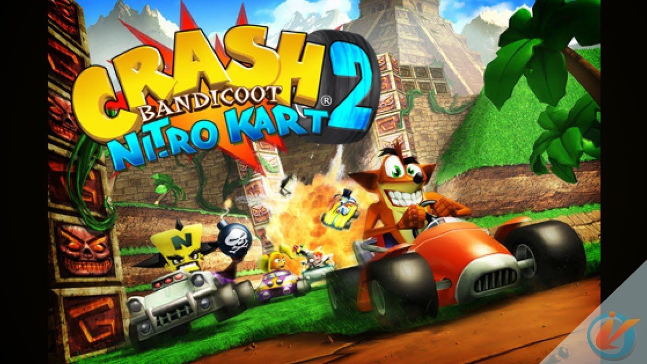 crash nitro car