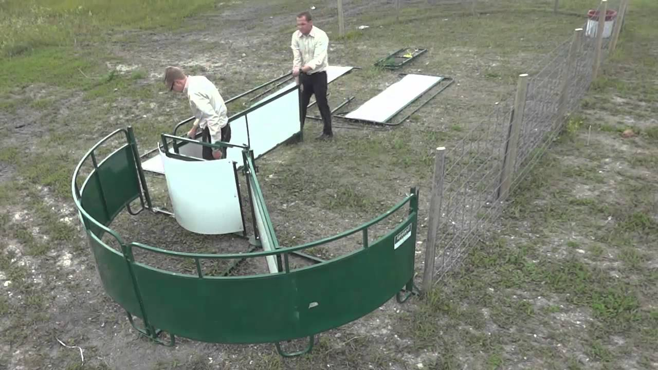WCCT-DX - Working Chute and Crowding Tub for Sheep and ...