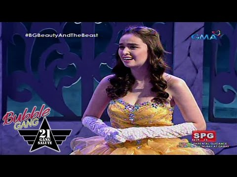 Bubble Gang: Beauty and the beast spoof