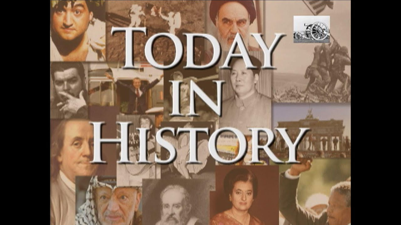 Today in History for September 17th