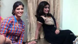 Shalu Kurian with Spicy Mallu Serial Actress
